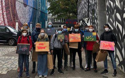 Graffiti-Sprayer – Künstler oder Sachbeschädiger?